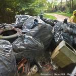 Puliamo il Buio 2014 - Il camion pieno di rifiuti