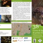 Corso speleo 2015 - Volantino esterno