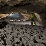 Grotta del Calgeron - Galleria con fondo in ghiaia