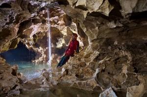 Grotta del Calgeron - Galleria lavorata dall'acqua