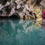 Grotta del Calgeron - Uno dei molti laghi interni